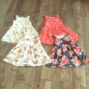 Bundle of 4 Tank Dresses